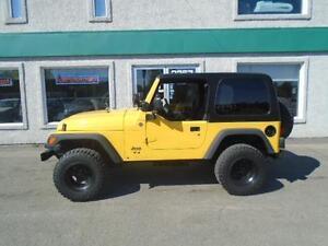 Jeep TJ 2005, Seulement 88000KM.......Impeccable!!!