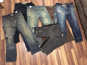 Lot of skinny jeans size 32