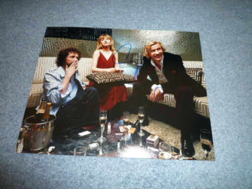 STEVE COOGAN u. IMOGEN POOTS signed Autogramm 20x25cm In Person THE LOOK OF LOVE