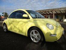2000 Volkswagen Beetle 9C 2.0 Yellow 5 Speed Manual Hatchback Laverton Wyndham Area Preview