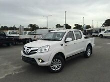 2015 Foton Tunland P201 MY14 TL (4x4) White 5 Speed Manual Dual Cab Utility Kenwick Gosnells Area Preview