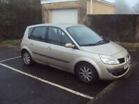 renault scenic 2007 spares repairs service history mot march