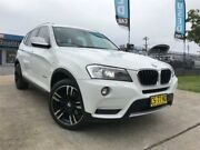 2013 BMW X3 F25 MY0413 xDrive20d White Automatic Wagon Mulgrave Hawkesbury Area Preview