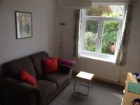 2 room en-suite furnished lodgings for one person; weekday, short or longer-term let considered
