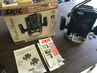 Skil 2HP Plunge Router $80