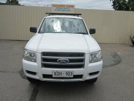 2007 Ford Ranger PJ XL (4x4) White 5 Speed Manual Windsor Gardens Port Adelaide Area Preview