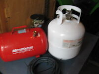 Propane and air tank