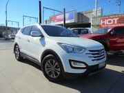2014 Hyundai Santa Fe DM MY14 Active White Auto Sports Mode Wagon Granville Parramatta Area Preview