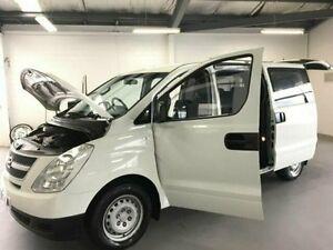 2009 Hyundai iLOAD TQ-V Crew Cab White 5 Speed Sports Automatic Van Frankston Frankston Area Preview