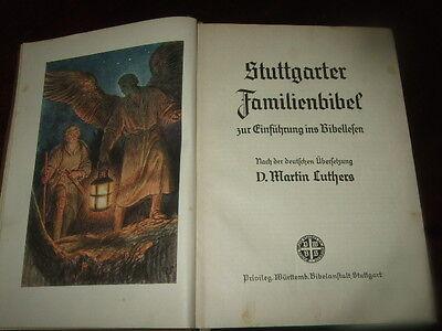 Stuttgarter Bibel,1940,Zur Einführung ins Bibellesen,Bilder s.Text