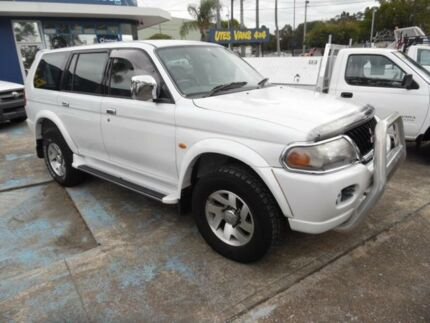 2002 Mitsubishi Challenger PA-MY03 LS (4x4) White 4 Speed Automatic 4x4 Wagon Homebush West Strathfield Area Preview