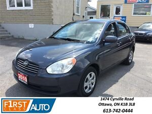 2010 Hyundai Accent - GREAT ON GAS! Reliable Car Must See!