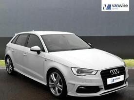2013 Audi A3 TFSI S LINE Petrol white Manual