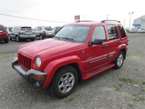 2004 Jeep Liberty 4x4 bas km