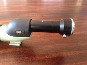 Nikon Field Scope ED II with attachments West Island Greater Montréal image 5