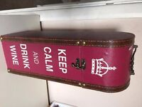 Wine Bottle Case - Never Used - Pink