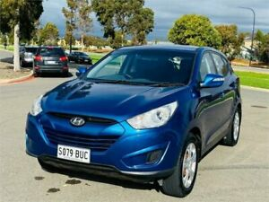 2010 Hyundai ix35 LM Active Blue 5 Speed Manual Wagon Mawson Lakes Salisbury Area Preview