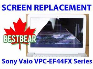 Screen Replacment for Sony Vaio VPC-EF44FX Series Laptop