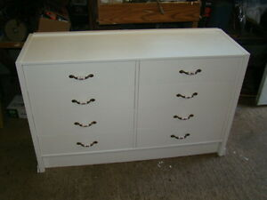 8 drawer dresser (not solid wood)...just reduced to $75.00