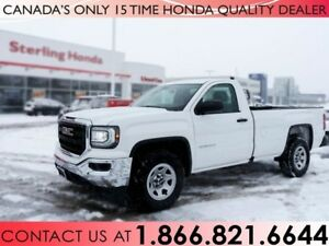 2016 GMC Sierra 1500 BASE | 8' BOX | 1 OWNER | NO ACCIDENTS | LO