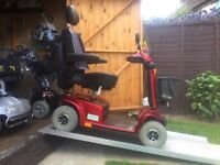 Fast Any Terrain Pride Celebrity X Mobility Scooter Only £550 - Brand New Batteries - 21 St Capacity
