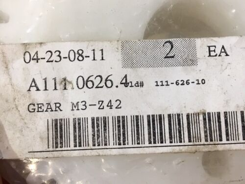 M3-Z42 Module Spur Gears - Polymer Material - Set of 2