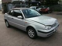 1999 Volkswagen Golf 1.6 SE CABRIOLET SALVAGE DAMAGED REPAIRABLE DRIVES