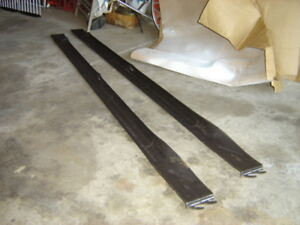 "Pair Of Steel Side Rails For ""Double-Sized"" Bed Mattress"