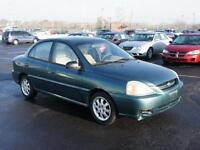 2003 Kia Rio RS w/Air Cond Automatic Certified $2995+Taxes&Lic