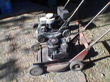 5hp Briggs & Stratton side throw mowers Devon Meadows Casey Area Preview