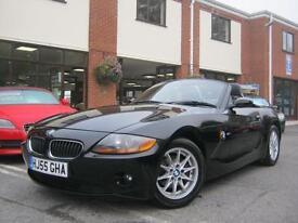 2005 55-Reg BMW Z4 2.0i SE Roadster,MET BLACK & FULL HEATED BLAC LEATHER!!!!