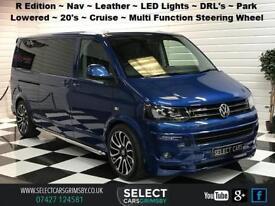 2014 VW Volkswagen Transporter Shuttle LWB SE 160bhp R Edition Olympic Blue