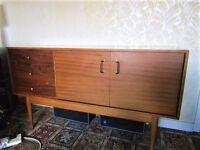 job lot of mid century furniture