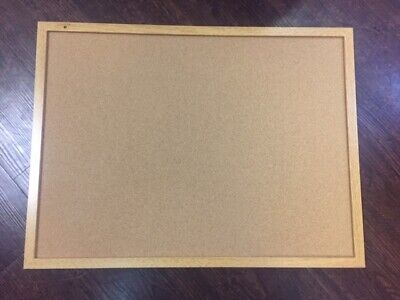 "Sparco Wood Frame Cork Board - 24"" Height X 18"" Width - Brown Cork (spr19766)"