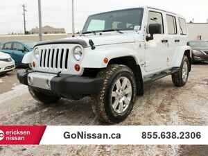 2013 Jeep Wrangler Unlimited Sahara 4x4
