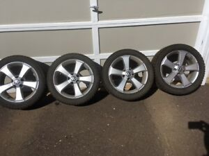 VW Stock Rims /Winter Tires