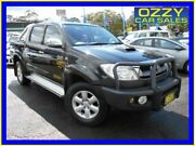 2010 Toyota Hilux KUN26R 09 Upgrade SR5 (4x4) Black 4 Speed Automatic Dual Cab Pick-up Penrith Penrith Area Preview