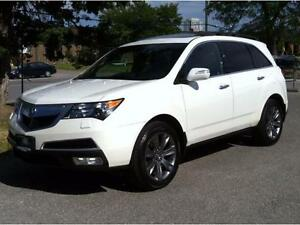 2010 ACURA MDX ELITE PKG - NAV|DVD|CAMERA|LANE ASSIST|BLUETOOTH