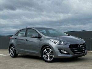 2016 Hyundai i30 GD4 Series II MY17 Active DCT Grey 7 Speed Sports Automatic Dual Clutch Hatchback Blacktown Blacktown Area Preview