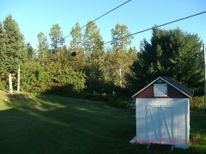 3 Acres Treed Land with character home Lower Derby Miramichi