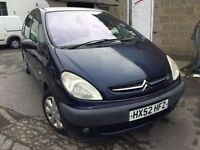 Cheap car of the day 2002 Citroen xsara Picasso, starts and drives, car located in Gravesend Kent, n
