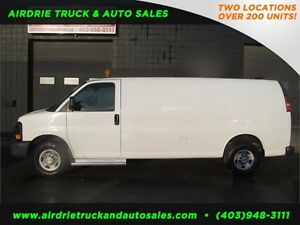 2008 Chevrolet Express Shelf Cargo Van !!