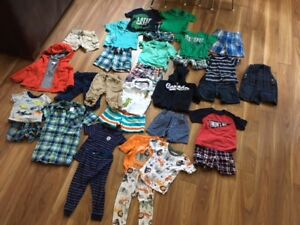Summer Boys Clothes - Mostly Gymboree, Size 12-18