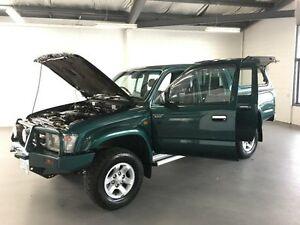 2000 Toyota Hilux LN167R SR5 (4x4) Green 5 Speed Manual 4x4 Dual Cab Pick-up Frankston Frankston Area Preview
