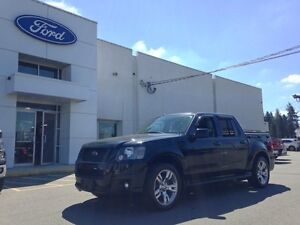 2010 Ford Explorer Sport Trac Adrenaline with Leather Interior.