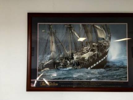 Print of the Belem by Philip Plisson
