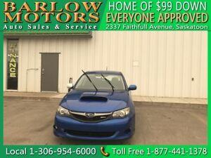 2010 Subaru Impreza WRX   $99 DOWN EVERYONE APPROVED!!!