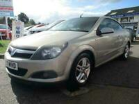 2007 Vauxhall Astra 1.8 i Sport Twin Top 2dr Convertible Petrol Manual