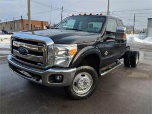 2012 Ford Super Duty F-350 DRW XLT 4X4 DIESEL CAB AND CHASSIS