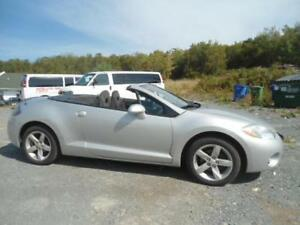 REDUCED FOR 8900 TO 7400! CONVERTIBLE 2008 ECLIPSE WARRANTY INCL